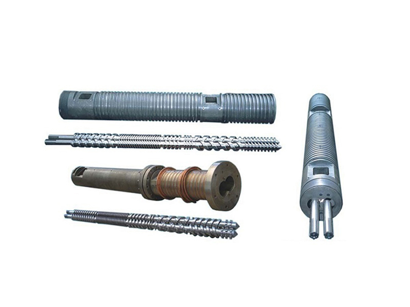 Various Conical Twin Barrel Screws